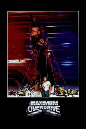 Poster Maximum Overdrive 1986