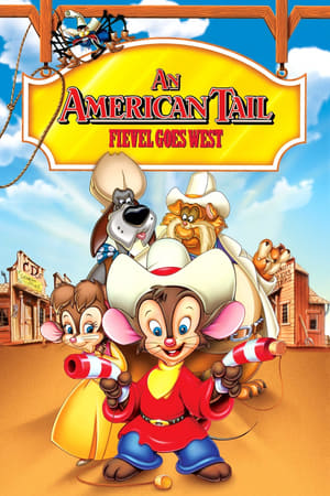 Poster An American Tail: Fievel Goes West 1991