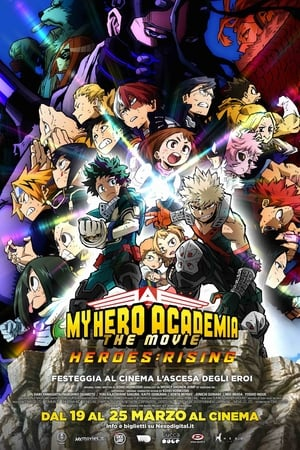 Poster My Hero Academia: The Movie - Heroes Rising 2019