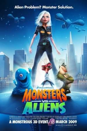 Image Monsters vs Aliens
