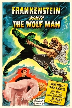Image Frankenstein Meets the Wolf Man