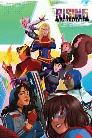 Poster Marvel Rising: Secret Warriors 2018