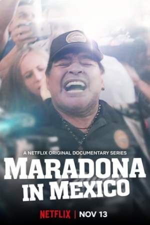 Image Maradona in Mexico