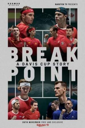 Poster Break Point: A Davis Cup Story 2020