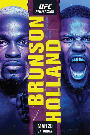 Image UFC on ESPN 21: Brunson vs. Holland