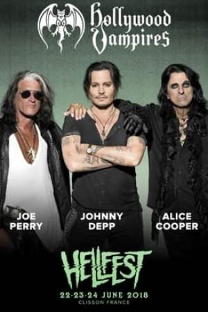 Image Hollywood Vampires Live at Hellfest 2018