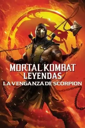 Poster Mortal Kombat Legends: La venganza de Scorpion 2020