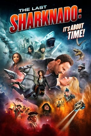 Poster The Last Sharknado: It's About Time 2018