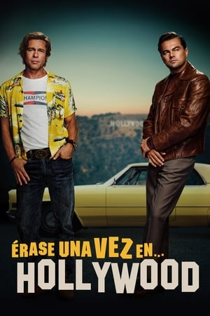 Poster Érase una Vez en... Hollywood 2019