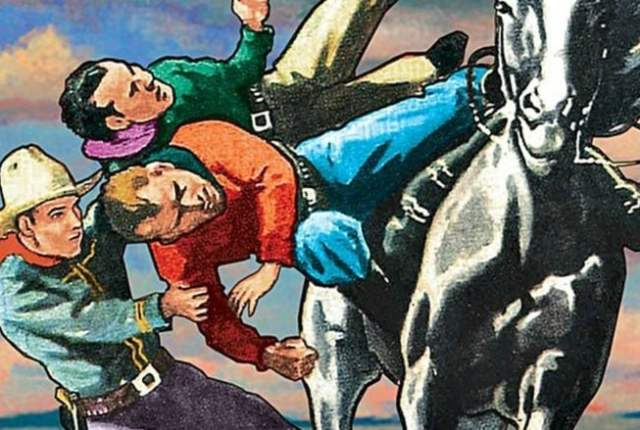 Adventures of the Texas Kid: Border Ambush ~ 1954