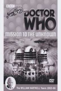 Doctor Who: Mission to the Unknown ~ 1965