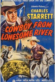 Cowboy from Lonesome River ~ 1944