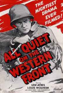 All Quiet on the Western Front ~ 1930