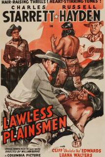 Lawless Plainsmen ~ 1942