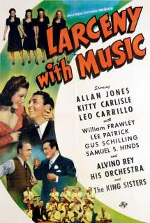 Larceny with Music ~ 1943