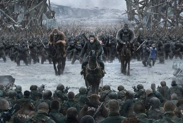 War for the Planet of the Apes ~ 2017