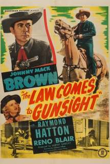 The Law Comes to Gunsight ~ 1947