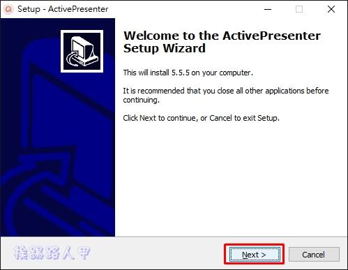 免費的「ActivePresenter」讓您輕鬆錄影及編輯教學影片 ap-05