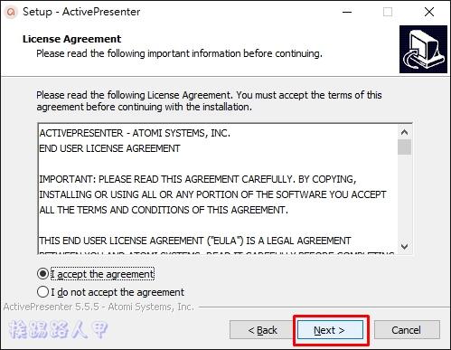 免費的「ActivePresenter」讓您輕鬆錄影及編輯教學影片 ap-06