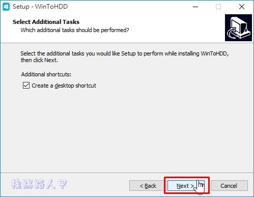 WinToHDD讓你在硬碟上直接重裝Windows系統,VHD虛擬硬碟也行哦! w2h-09