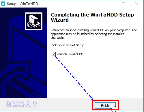 WinToHDD讓你在硬碟上直接重裝Windows系統,VHD虛擬硬碟也行哦! w2h-11