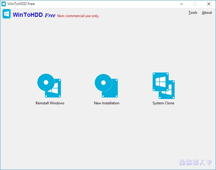 WinToHDD讓你在硬碟上直接重裝Windows系統,VHD虛擬硬碟也行哦! w2h-13