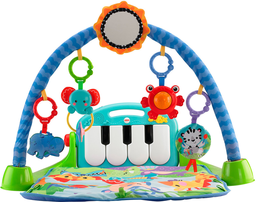 Fisher Price Rainforest Piano Gym Mit Spielbogen - Fisher Price Küche Zubehör