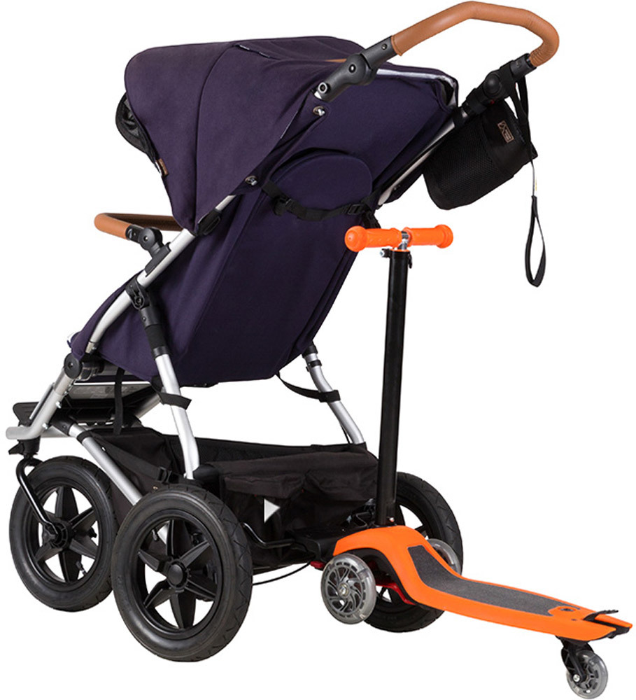 Doppel Kinderwagen Urban Jungle Mit Konnektor Yellow