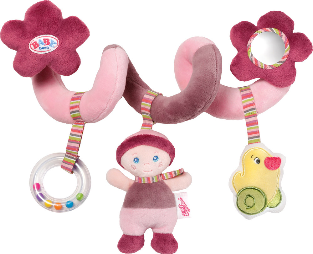 Baby Im Maxi Cosi Füttern Zapf Creation 819555 Baby Born® Activity Spirale