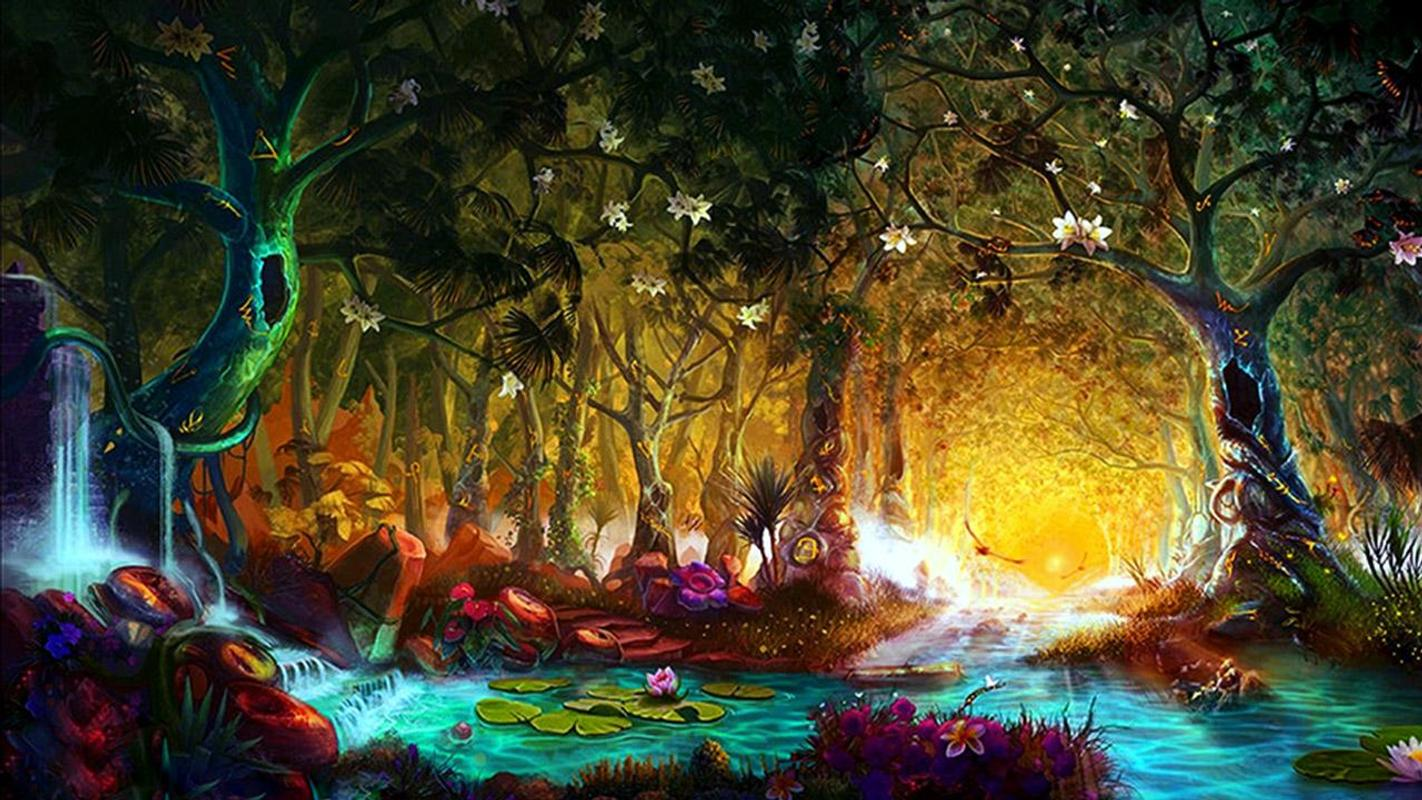 Mystical Creatures In The Fall Wallpaper Fairy Tale Live Wallpaper Apk Download Free