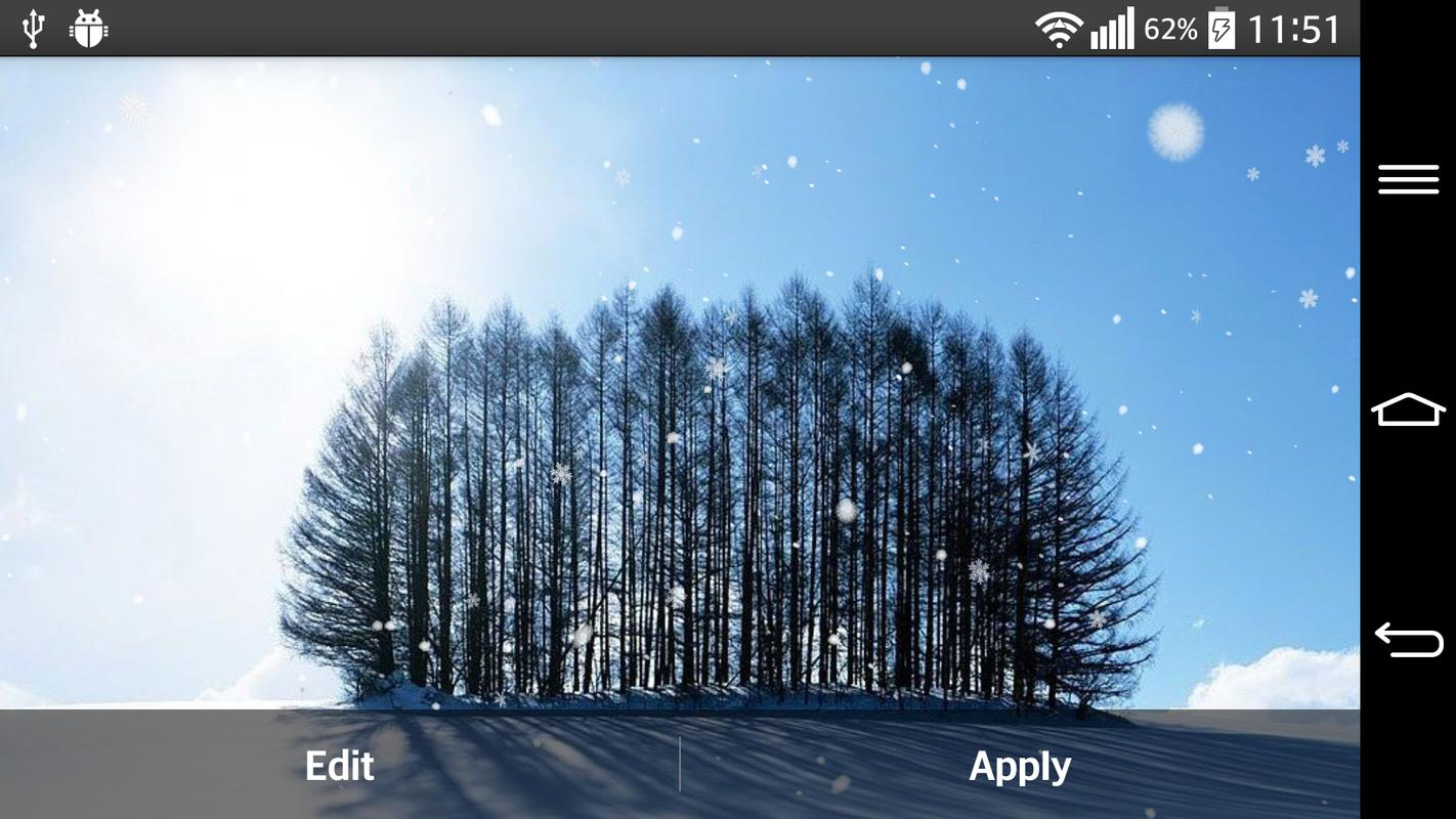 Falling Snow Live Wallpaper Apk Snow Apk Download Free Personalization App For Android