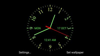 Analog Clock Live Wallpaper APK Download - Free Personalization APP for Android | APKPure.com