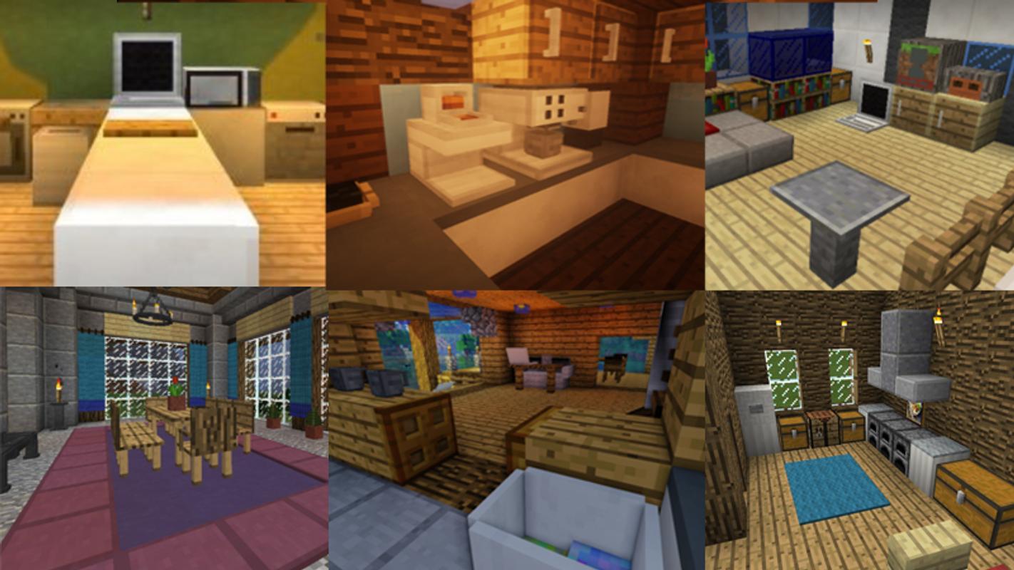 Furniture Mod Minecraft 0.14.0 APK Download