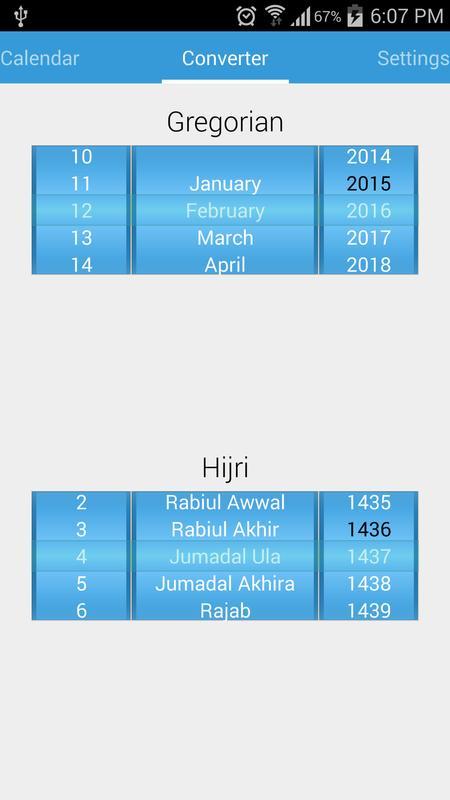 Islamic Date Converter Gregorian Calendar Converter Islamic Calendar 2017 Apk Download Free Lifestyle App