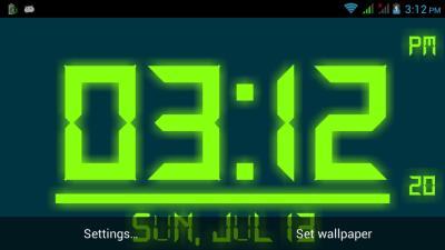 Digital Clock Live Wallpaper APK Download - Free Personalization APP for Android | APKPure.com