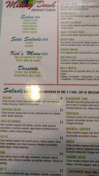 Online Menu of Mixing Bowl Restaurant, Lexington Park ...