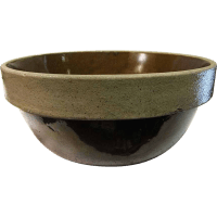 Vintage Stoneware Pottery Mixing Bowl by Monmouth Pottery ...