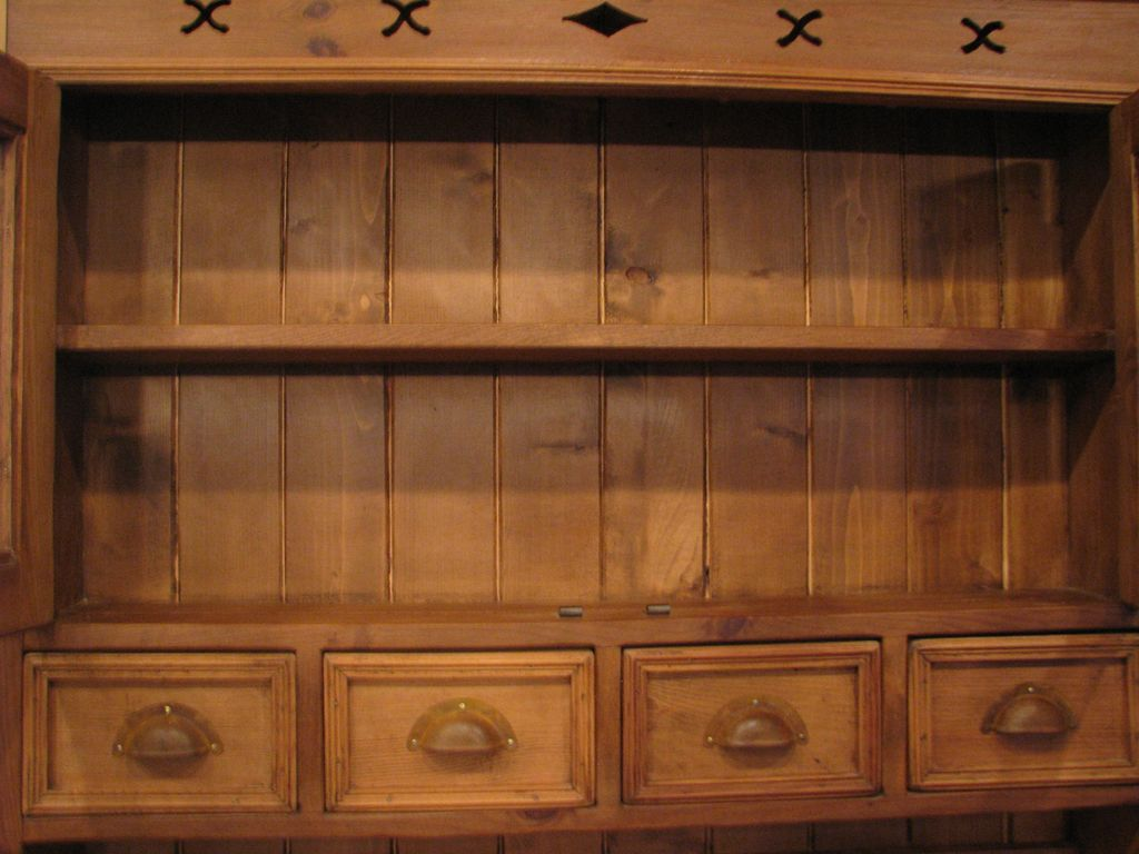 Antique European Kitchen Cabinets Vintage European Pine Hanging Cupboard Cabinet From