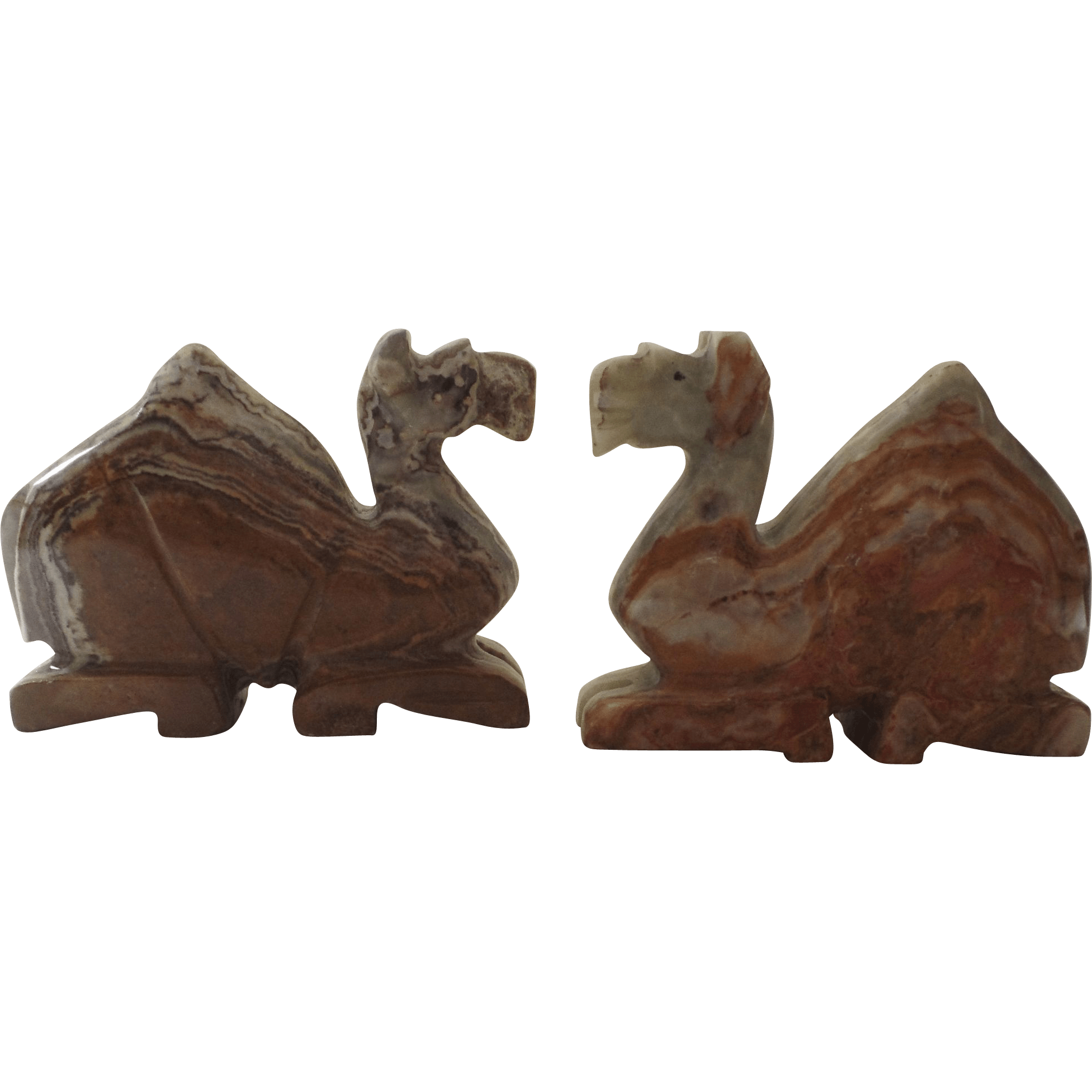 Classic Bookends Vintage Onyx Bookends Camels From Blacktulip On Ruby Lane
