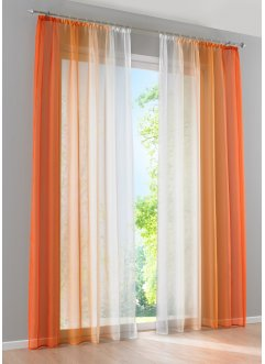 Orange Gardinen Von Bonprix Trendy Und Stilvoll - Vorhang Orange