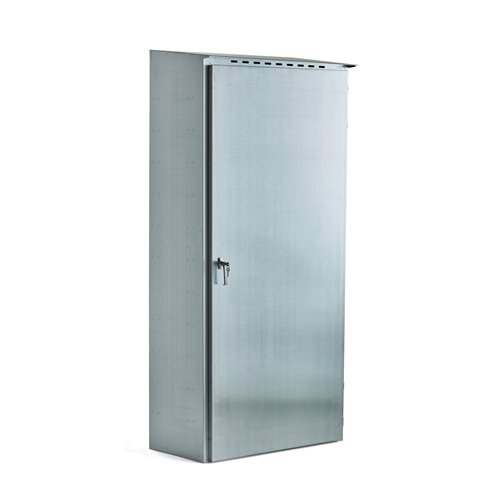 Gas cylinder storage cabinet for outdoor use, 2050x960x476