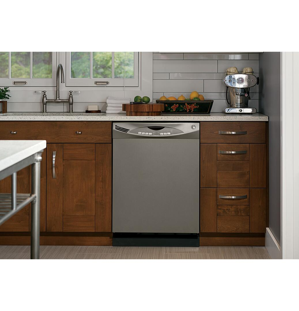 Kitchen Cabinet Refinishing Brooklyn Ge Gdwf150ves Built In Full Console Dishwasher With In