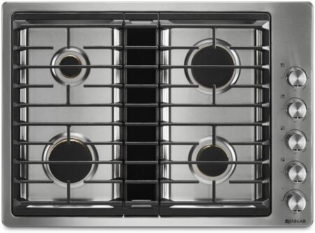 Jenn-Air JGD3430GS 30 Inch Gas Sealed Burner Cooktop Appliances