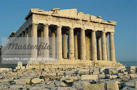 The Parthenon, The Acropolis, UNESCO World Heritage Site, Athens