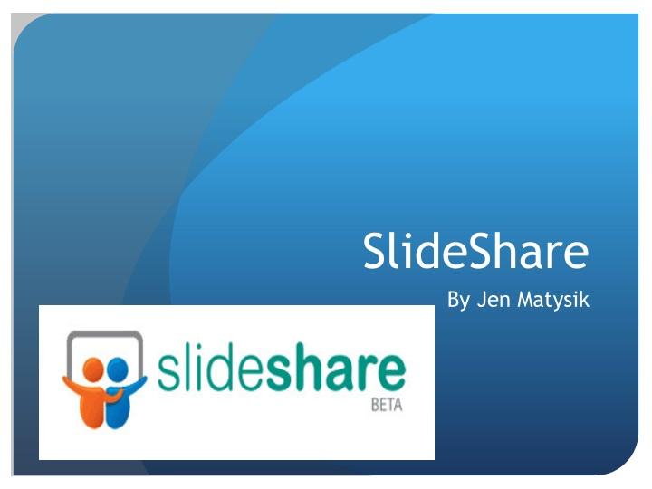 PPT - SlideShare PowerPoint Presentation - ID1504193