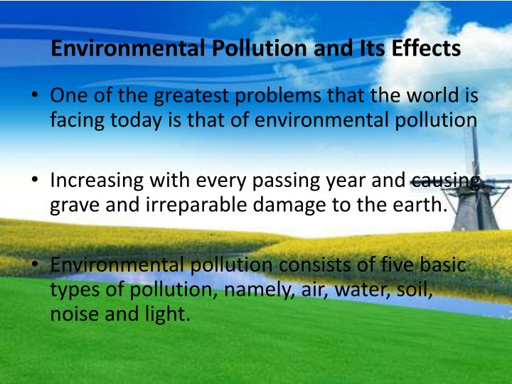 PPT - Environmental Problems and Solutions PowerPoint Presentation