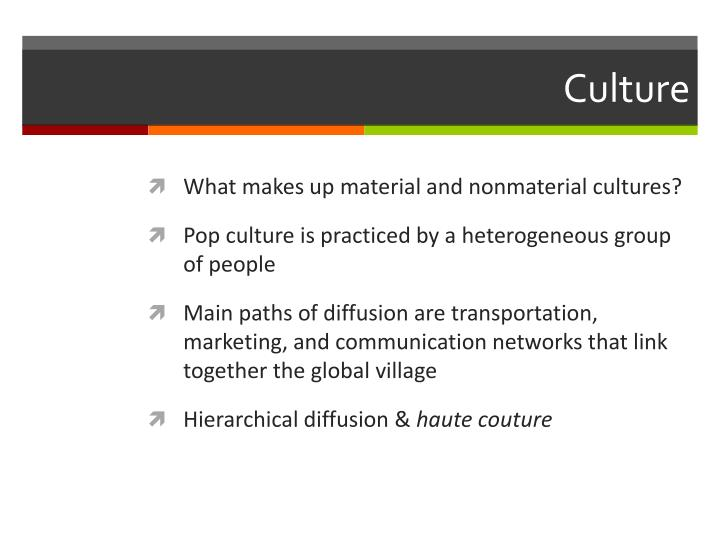 PPT - Local Culture, Popular Culture,  Cultural Landscapes