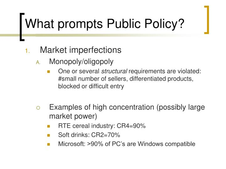 PPT - Public Policy in Private Markets PowerPoint Presentation - ID