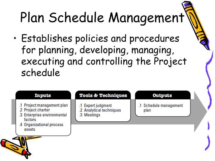 PPT - SOFTWARE PROJECT MANAGEMENT PowerPoint Presentation - ID1565814 - schedule management plan