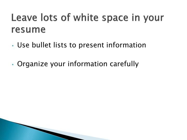 PPT - Resumes PowerPoint Presentation - ID1600835
